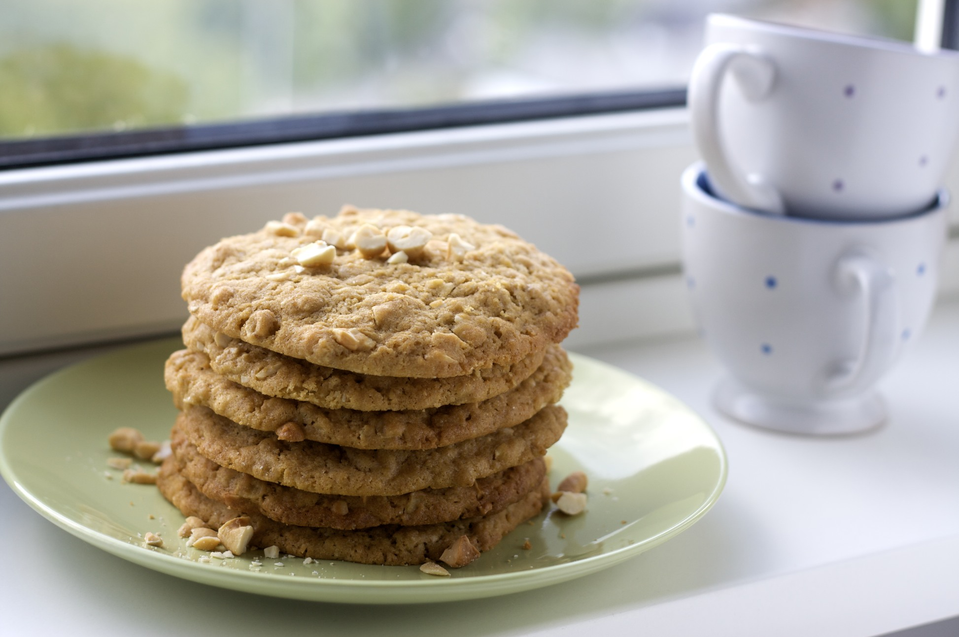 jumbo cashew cookies made with bisquick
