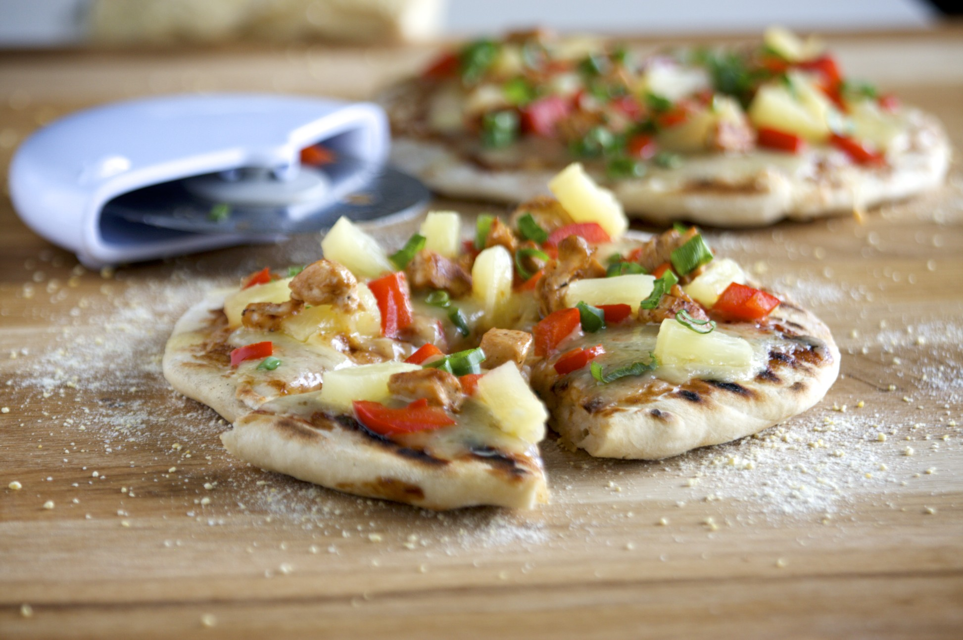 last-minute bbq pizza dough