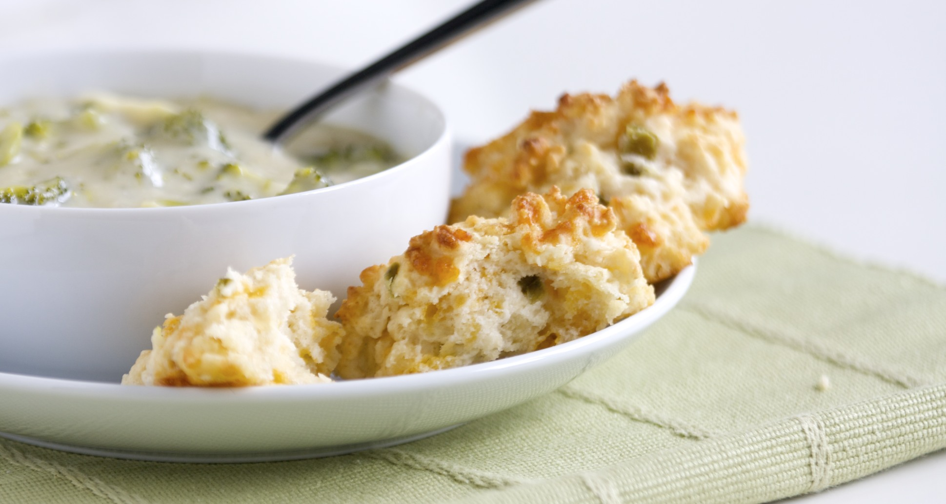Jalepeno Cheddar Biscuits made with bisquick