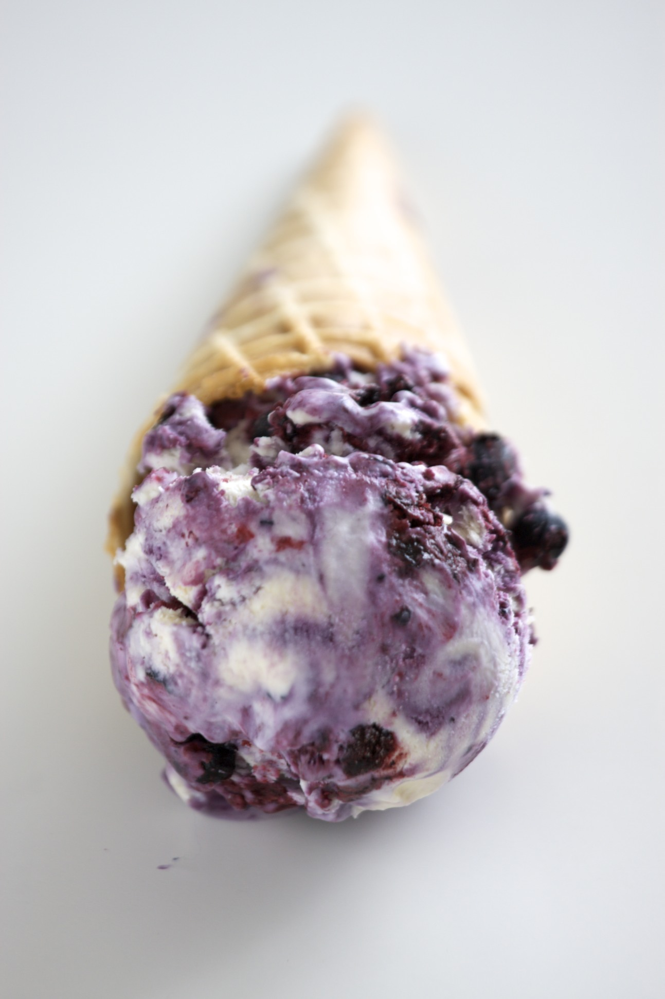 No-Churn Blueberry Cheesecake Ice Cream