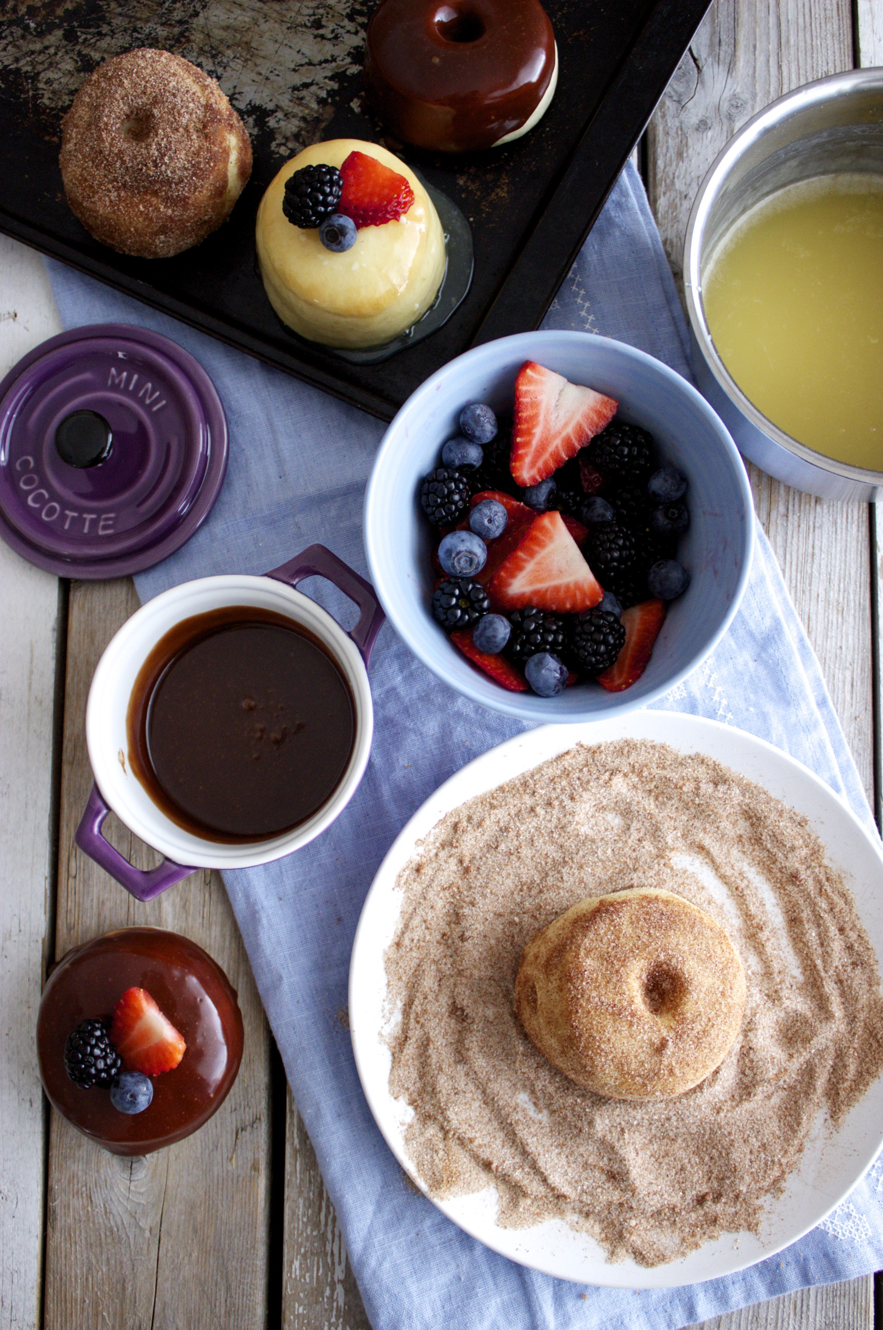 Baked Doughnuts – Three Ways