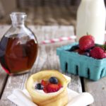 Mini Dutch Baby Berry Baskets