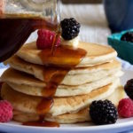 Homemade Butter Flavoured Pancake Syrup