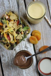 Lunch Box: Taco Salad w/ Sunshine Smoothies & Healthier Pudding Cups