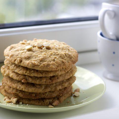 Kids in the Kitchen: Jumbo Cashew Cookies
