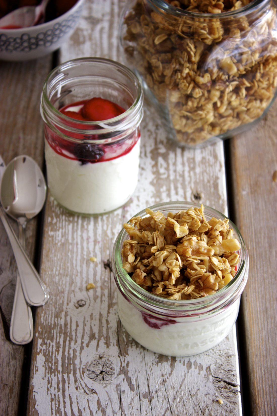 No-Bake Maple Walnut Granola Clusters