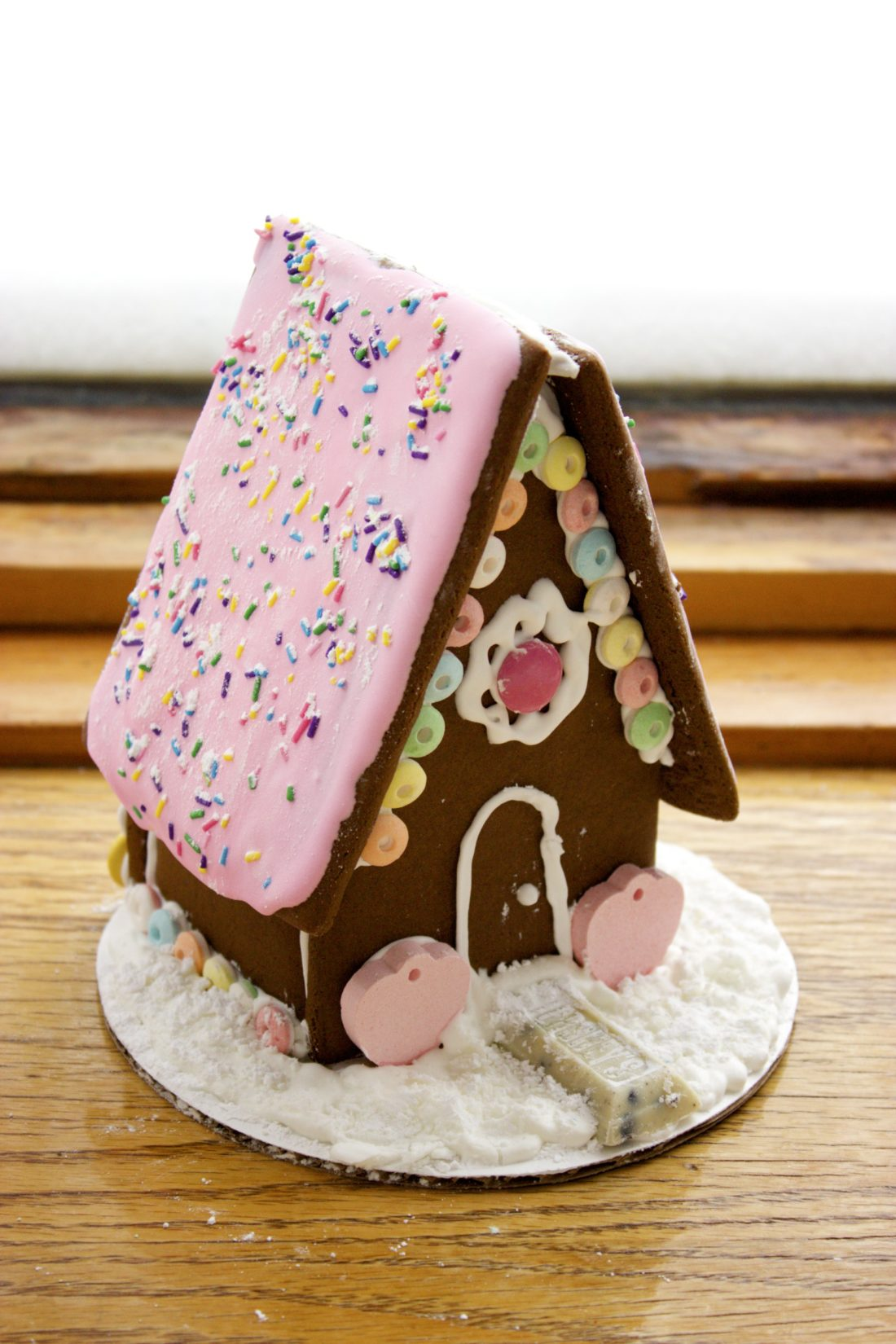 Let's Make Gingerbread Houses! The Results