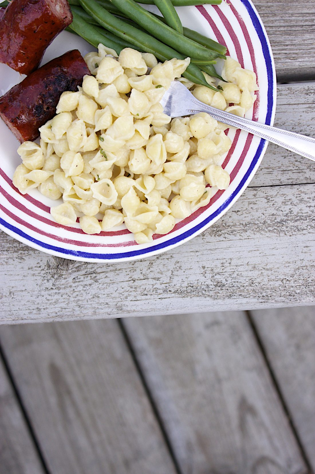 (Easy Sides) One Pot Garlic & Herb Pasta